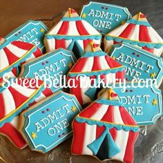 Circus  sweetbellabakery