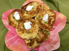 Potato Pancakes with Cheese