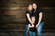Mother and daughters family portrait, Family photography