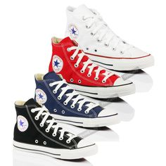 CONVERSE ALL STAR CHUCK TAYLOR MENS WOMENS SKATE CANVAS TRAINER BOOTS