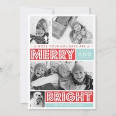 Bold Merry and Bright Christmas Photo Card: Bold Merry and Bright by Origami Prints Photo Cardby origamiprints Christmas Photo Cards, Christmas Photos, Holiday Cards, Origami, Photo Card Printing, Merry Happy, Happy Photos, Christmas Invitations, Holiday Photos