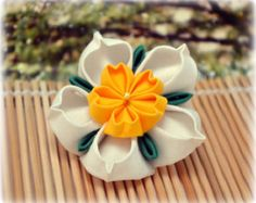 kanzashi brooches – Etsy
