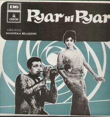 Pyar Hi Pyar 1970 Bollywood Vinyl LP