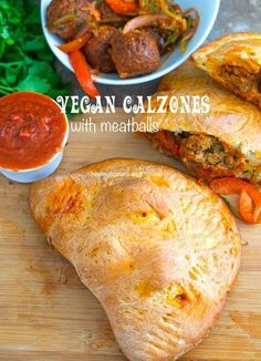 Vegan Homemade Calzone Recipe with Gardein Meatless Meatballs - This is a really quick and easy dinner recipe for the whole family. I used store-bought pizza dough and stuffed it with vegan meatballs. This makes for really good pizza night recipe that even the kids can help to make. Add zucchini zoodles and veggies
