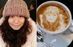 Neue Kaffeekunst von Michael Breach