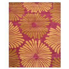TMD221PL912 - EORC TMD221PL EORC Hand Tufted Wool Purple Brooklyn Rug (8'9 x 11'9) - GoingRugs