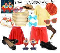 """""""Disney Tweedles"""" by sophiedee11 on Polyvore"""