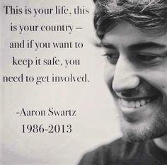 Aaron Swartz (November 8, 1986 – January 11, 2013)