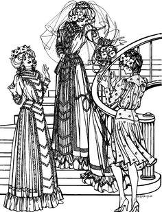 32 best folkwear patterns images clothes patterns clothing Bavarian Dress 227 edwardian bridal gown folkwear bridesmaid dresses wedding dresses edwardian era vintage