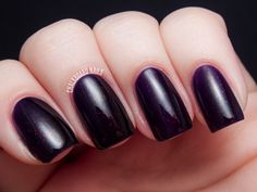 Whoa, this color is mysterious and awe-inspiring!  River Market is a gorgeous deep purple jelly with a fiery raspberry shimmer. This shimmer reminds m...  #clarins 230 #elegant #gold #shimmer #nails #nailpolish