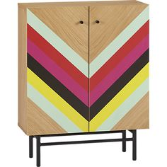 stella cabinet –CB2. Love the treatment, but not hot on the veneer. Maybe apply to another piece...?