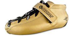 Gold Bont Quad Derby Speed Skates - Hybrid IN GOLD!!!!!! #BCB