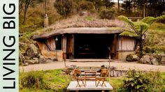 This week we visit Underhill, and incredible hobbit-home like, eco-cave house built into a hillside. The off-the-grid house is cleverly constructed to resemb...