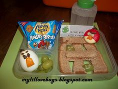 Angry Bird Lunch Idea- Day 6