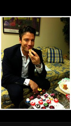 James Scott ...hello there E.J.  Yes I would like to join you for lunch. May I ask Jill if she would like to come along?  What little tidbit are you enjoying?  M m m m , !