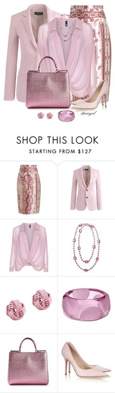 """""""The Pale Side Of Fall"""" by sherryvl ❤ liked on Polyvore featuring Zimmermann, J.Crew, Manon Baptiste, Chanel, Tia Collections, First People First, Dolce&Gabbana and Jimmy Choo"""