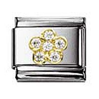 Nomination Charm White Flower | Contemporary Jewellery at Affordable Prices | Xen Jewellery Design