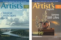 Help us decide! Which cover do you prefer for the May issue of The Artist's Magazine? ~Cherie #art #paintings