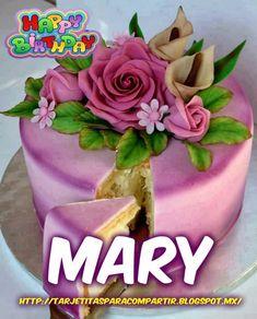 Imágenes de feliz cumpleaños con nombre de mujeres | Descargar imágenes gratis Happy Birthday Name, Birthday Cake, Love Phrases, Julia, Desserts, Food, Looney Tunes, Veronica, Vestidos