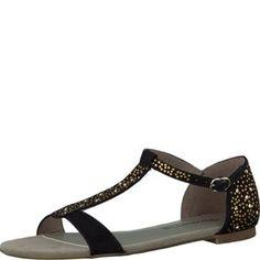 Tamaris-Schuhe-Sandalette-BLACK-Art.:1-1-28156-30/001