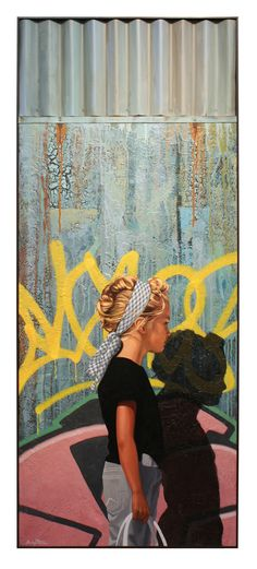 Kevin Peterson Fine Art: maybe do this at graffiti bridge for photo??