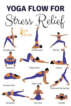 Yoga Flow for Stress ReliefYou can find Yoga fitness and more on our website.Yoga Flow for Stress Relief Fitness Workouts, Yoga Fitness, Health Fitness, Health Yoga, Yoga Workouts, Beginner Yoga Workout, Yoga For Mental Health, Beginner Yoga Routine, Easy Beginner Workouts