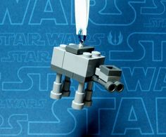 Lego AT-AT Mini Christmas Ornament