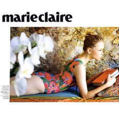 Agua de CoCo Turkish Garden print from 2013 collection : Marie Claire magazine Brazil