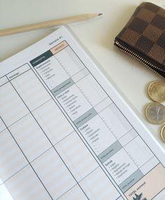 KAKEBO: Mi libro de cuentas para el ahorro y la gestión de la economía domética :-) Estoy encantada!