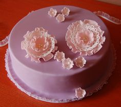cake with flowers VII