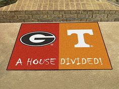 Georgia / Tennessee House Divided Mat