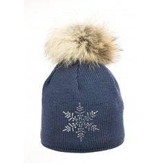 ce0b7f58cca Steffner Sky Womens Ski Hat In Petrol Blue