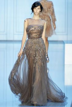 Elie Saab Fall 2011 Couture Fashion Show - Ruby Aldridge