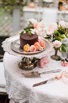 Beautiful little mini cake~