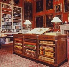 The Red Library, Petworth House