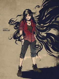 Anime Art by Shilin Huang