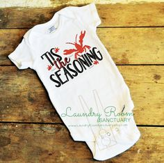 A personal favorite from my Etsy shop https://www.etsy.com/listing/519579059/tis-the-seasoning-infant-toddler-child