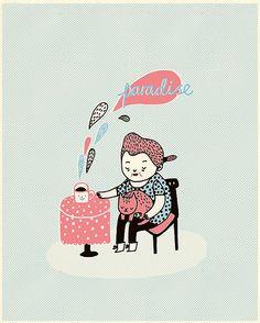 Paradise by Gemma Correll