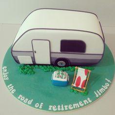 Ein Ruhestand Caravan Cake on Cake Central … – … - Wohnwagen Retirement Cakes, Retirement Parties, Retirement Planning, Retirement Countdown, Retirement Decorations, Retirement Quotes, Fondant Cakes, Cupcake Cakes, Cupcakes