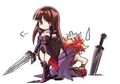 credit : 9mg2.deviantart.com/ Brave Frontier, Fuji, Final Fantasy, Character Art, Artworks, Fan Art, Games, Anime, Gaming