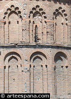 Arquitectura Mudéjar. Decoración mural delas iglesias de Toledo