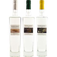 Caskers Selection: Russell Henry London Dry, Hawaiian Ginger & Malaysian Lime Gins - Caskers
