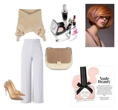 """""""Untitled #167"""" by sabii-dlii ❤ liked on Polyvore featuring Roland Mouret, WithChic and Christian Louboutin"""