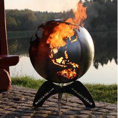 Home Deluxe Edelrost Feuerschale Inka