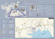 Plan de la ville de Porto-Vecchio pour l'OMT.
