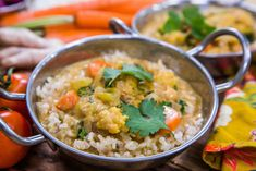 Cauliflower, Chickpea, And Spinach Curry | Home & Family | Hallmark Channel