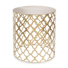 Gold side table to fit into Art-Deco inspired interiors Interior Design Living Room, Living Room Decor, Metal Side Table, Nesting Tables, Deco Design, Decoration, Furniture Decor, Home Furnishings, Home Decor