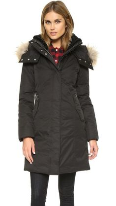 Blizzard Season / Mackage Kerry Coat #wrappedup #shopbop