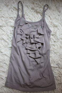 Step 5: Pin the Strips to the Shirt by iriskh, via Flickr