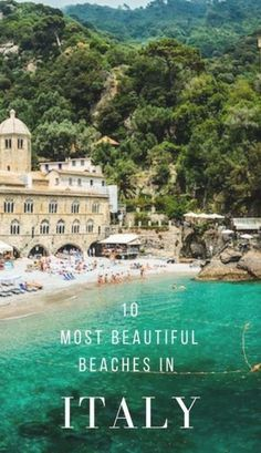 Italy is synonymous with beauty, and it's beaches are no exception. So here are 10 of the most beautiful beaches in Italy (if not some of the best beaches in Europe). There's something for everyone, from grand sculptural rocks of Lampedusa and Scala dei Turchi, to perfect sands of Cala Mariolu, and the picturesque settings of Polignano a Mare and San Fruttuoso. #italy #beaches #europe Best Beaches In Europe, Beaches In The World, Best Places In Italy, Europe Destinations, Italy Holiday Destinations, Best Honeymoon Destinations, Cinque Terre, Places To Travel, Vacation Places